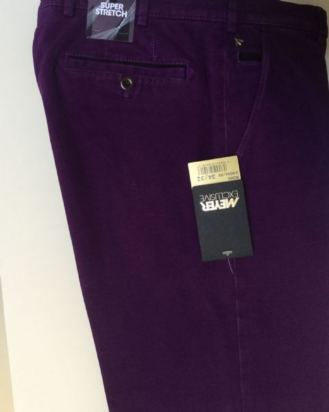 Meyer Purple Trousers - Style Roma - 2-8556-/58